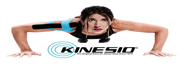 Kinesio Tape on Shoulder During Push Up
